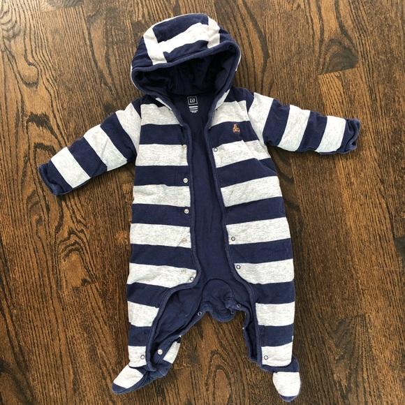816177467 GAP One Pieces   Baby Ultra Thick Winter Suite Boy Onesie   Poshmark